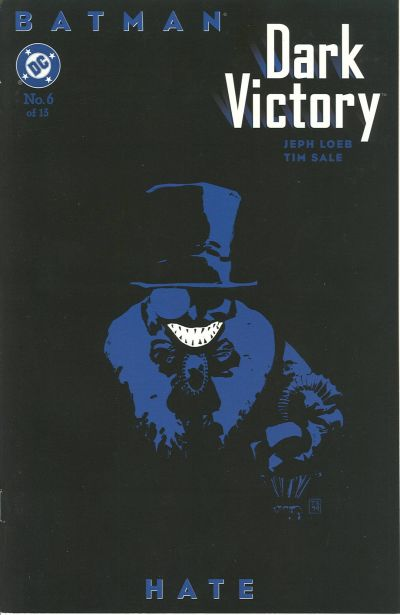 Cover for Batman: Dark Victory (DC, 1999 series) #6