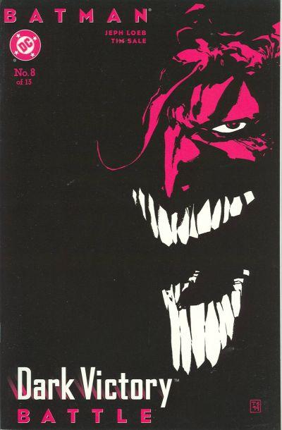 Cover for Batman: Dark Victory (DC, 1999 series) #8