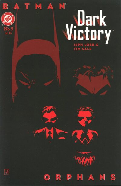 Cover for Batman: Dark Victory (DC, 1999 series) #9