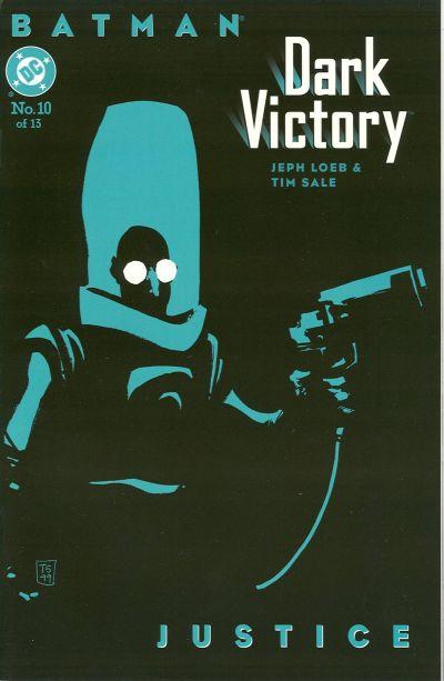 Cover for Batman: Dark Victory (DC, 1999 series) #10
