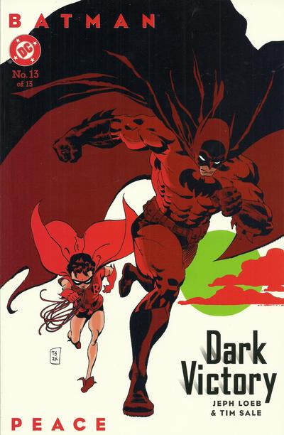 Cover for Batman: Dark Victory (DC, 1999 series) #13