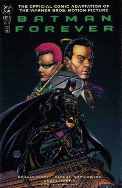 Cover for Batman Forever: The Official Comic Adaptation of the Warner Bros. Motion Picture (DC, 1995 series) #[nn] [Newstand]