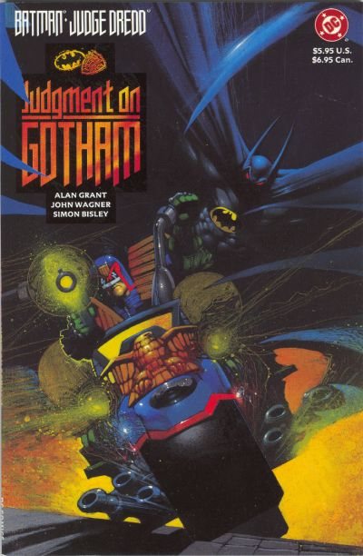 Cover for Batman / Judge Dredd: Judgment on Gotham (DC, 1991 series)