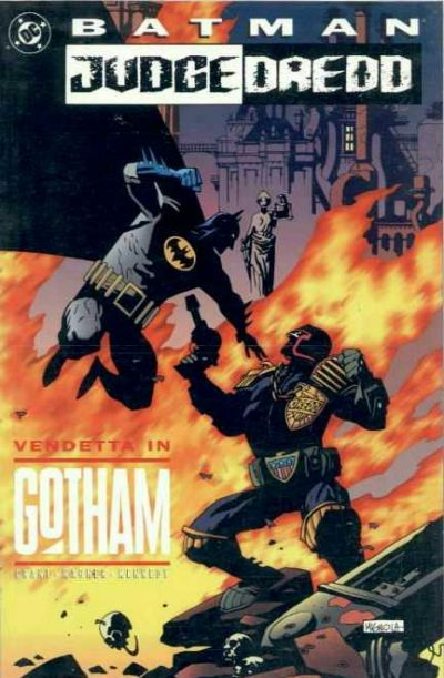 Cover for Batman / Judge Dredd: Vendetta In Gotham (DC, 1993 series) #[nn]