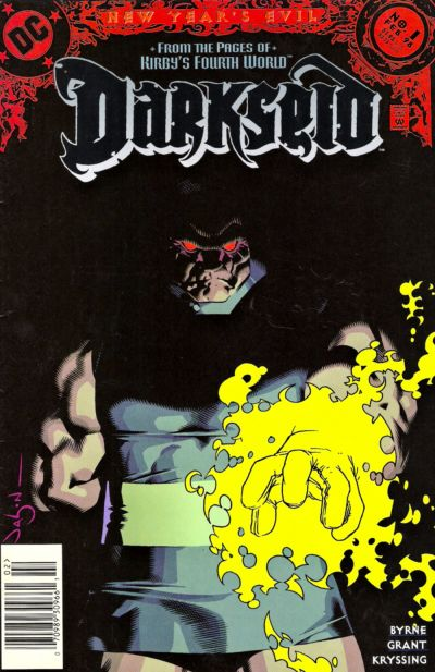 Cover for Darkseid (Villains) (DC, 1998 series) #1 [Direct Sales]