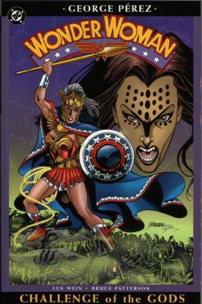 Cover for Wonder Woman (DC, 2004 series) #2 - Challenge of the Gods
