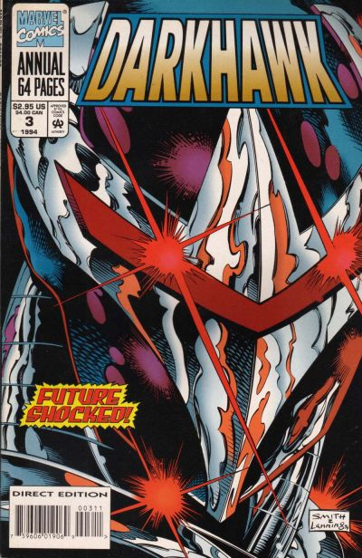 Cover for Darkhawk Annual (Marvel, 1992 series) #3