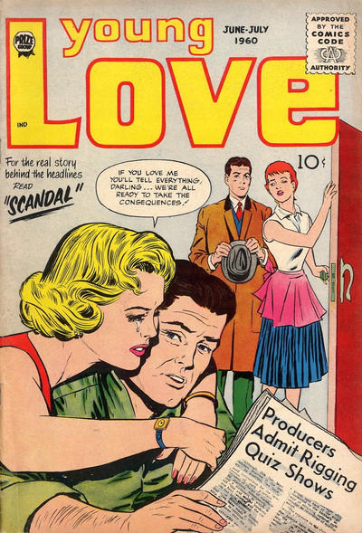 Cover for Young Love (Prize, 1960 series) #v4#1 [20]