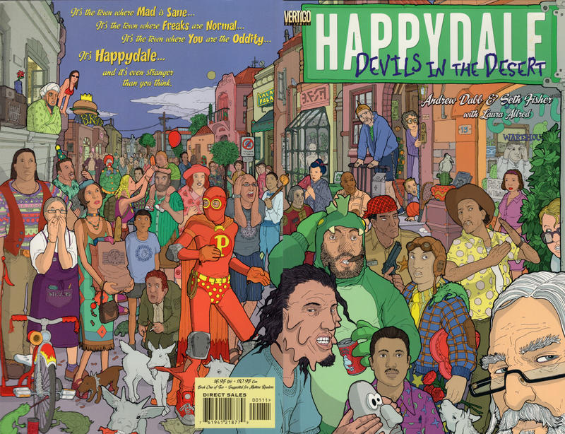 Cover for Happydale: Devils in the Desert (DC, 1999 series) #1