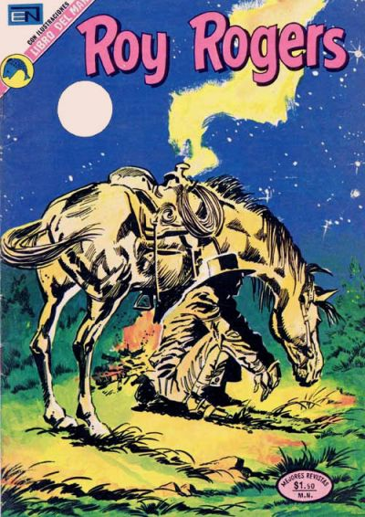 Cover for Roy Rogers (Editorial Novaro, 1952 series) #295