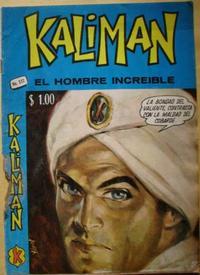 Cover Thumbnail for Kalimán El Hombre Increíble (Promotora K, 1965 series) #322