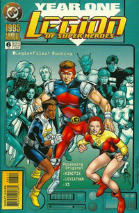 Cover Thumbnail for Legion of Super-Heroes Annual (DC, 1990 series) #6