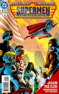 Cover Thumbnail for Supermen of America (DC, 1999 series) #1 [Collector's Edition]