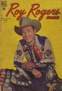 Cover Thumbnail for Roy Rogers Comics (Wilson Publishing, 1948 series) #4