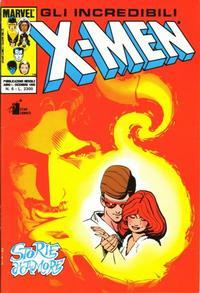 Cover Thumbnail for Gli Incredibili X-Men (Edizioni Star Comics, 1990 series) #6