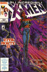 Cover Thumbnail for Gli Incredibili X-Men (Edizioni Star Comics, 1990 series) #16