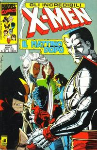 Cover for Gli Incredibili X-Men (Edizioni Star Comics, 1990 series) #21