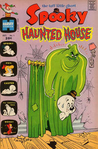 Cover Thumbnail for Spooky Haunted House (Harvey, 1972 series) #1
