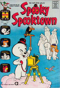 Cover Thumbnail for Spooky Spooktown (Harvey, 1961 series) #1