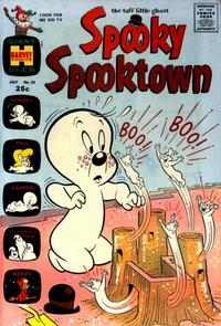 Cover Thumbnail for Spooky Spooktown (Harvey, 1961 series) #25