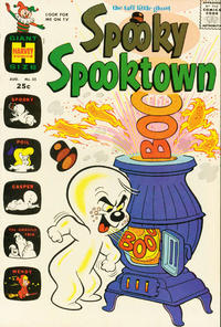 Cover Thumbnail for Spooky Spooktown (Harvey, 1961 series) #35
