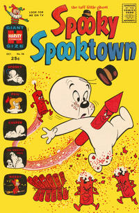 Cover Thumbnail for Spooky Spooktown (Harvey, 1961 series) #36