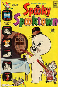 Cover Thumbnail for Spooky Spooktown (Harvey, 1961 series) #45