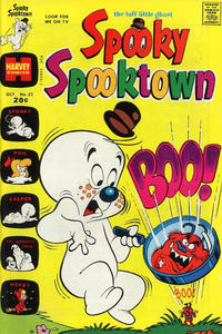 Cover Thumbnail for Spooky Spooktown (Harvey, 1961 series) #51