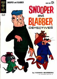 Cover Thumbnail for Snooper and Blabber, Detectives (Western, 1962 series) #2