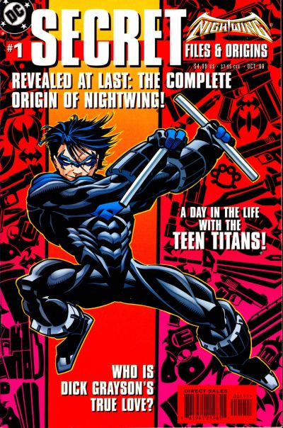 Cover for Nightwing Secret Files (DC, 1999 series) #1