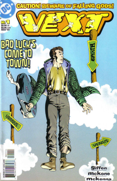 Cover for Vext (DC, 1999 series) #1