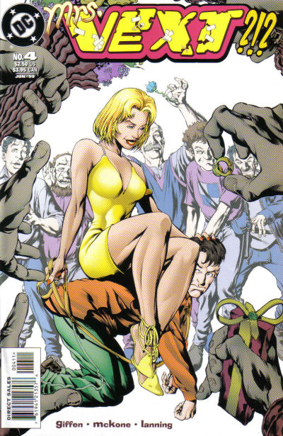 Cover for Vext (DC, 1999 series) #4
