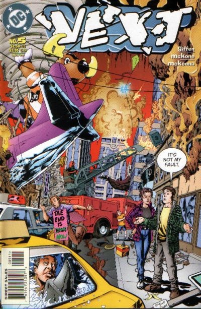 Cover for Vext (DC, 1999 series) #5