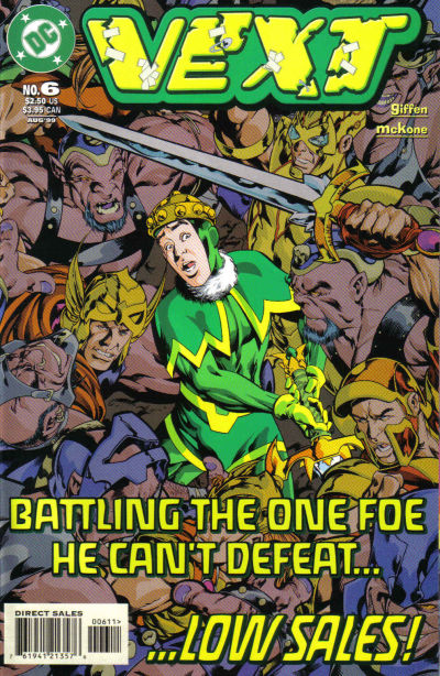 Cover for Vext (DC, 1999 series) #6