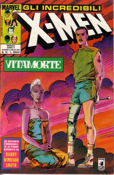 Cover for Gli Incredibili X-Men (Edizioni Star Comics, 1990 series) #12
