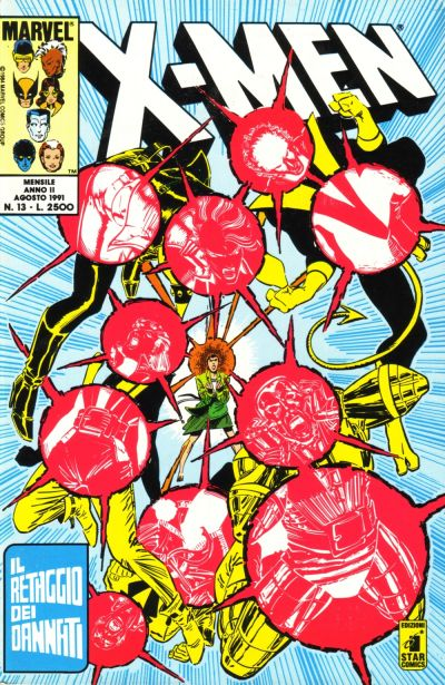 Cover for Gli Incredibili X-Men (Edizioni Star Comics, 1990 series) #13