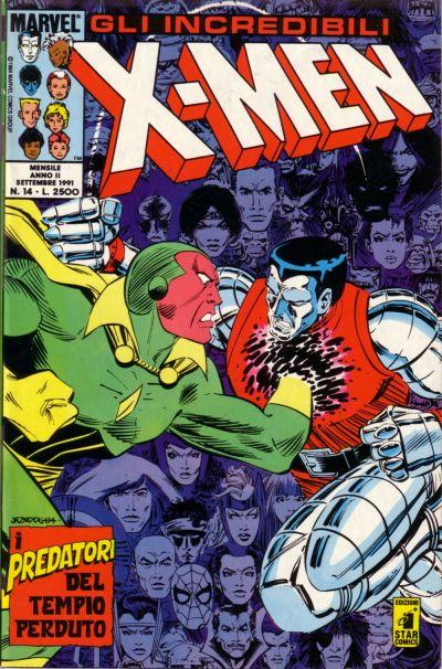 Cover for Gli Incredibili X-Men (Edizioni Star Comics, 1990 series) #14