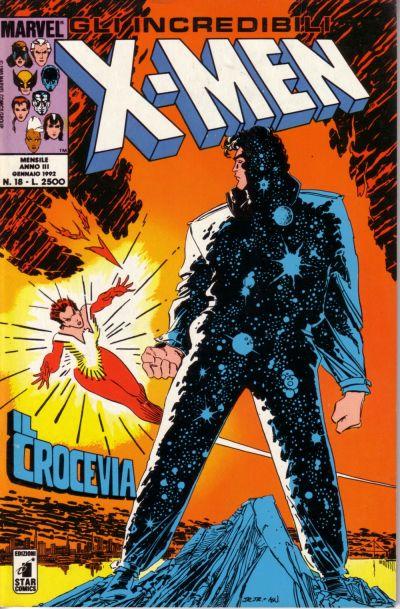 Cover for Gli Incredibili X-Men (Edizioni Star Comics, 1990 series) #18