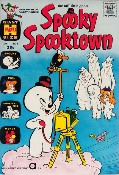Cover for Spooky Spooktown (Harvey, 1961 series) #1