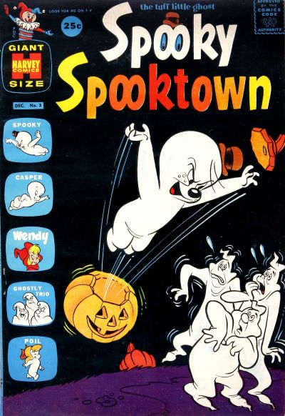 Cover for Spooky Spooktown (Harvey, 1961 series) #3 [25 Cent Cover]