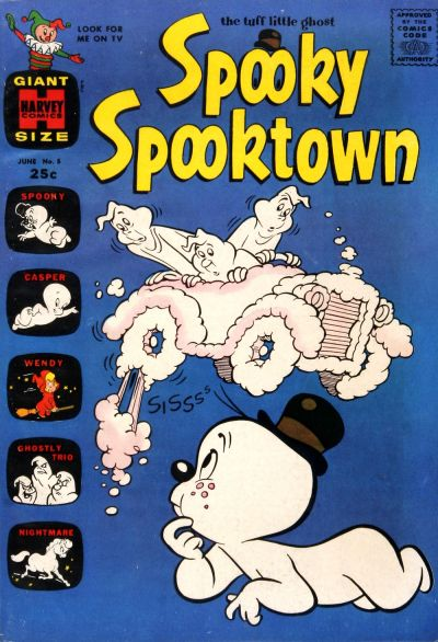 Cover for Spooky Spooktown (Harvey, 1961 series) #5