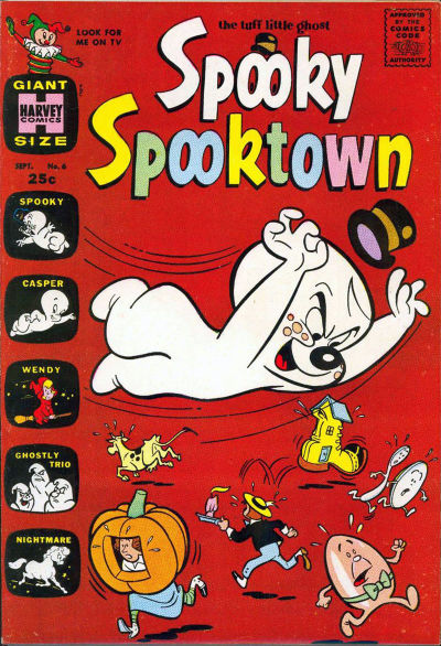 Cover for Spooky Spooktown (Harvey, 1961 series) #6