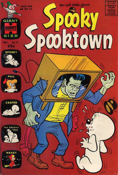 Cover for Spooky Spooktown (Harvey, 1961 series) #17