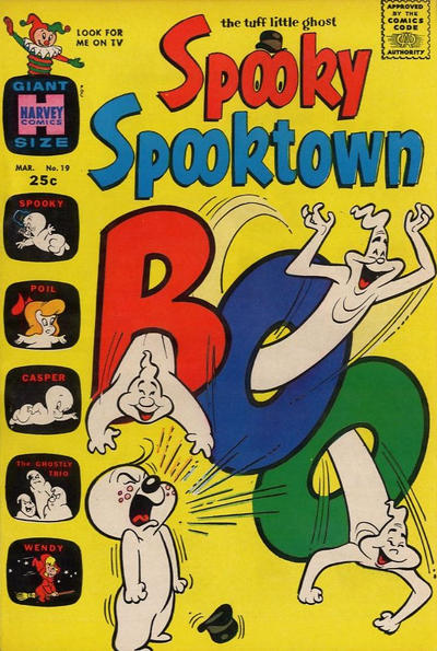 Cover for Spooky Spooktown (Harvey, 1961 series) #19