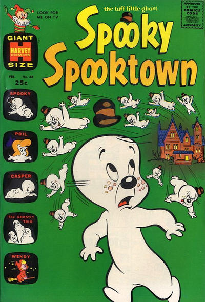 Cover for Spooky Spooktown (Harvey, 1961 series) #23