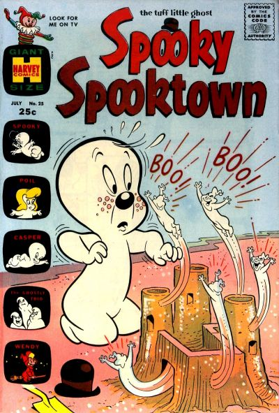 Cover for Spooky Spooktown (Harvey, 1961 series) #25