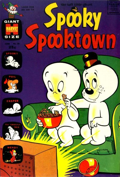 Cover for Spooky Spooktown (Harvey, 1961 series) #29