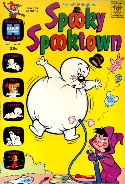 Cover for Spooky Spooktown (Harvey, 1961 series) #32
