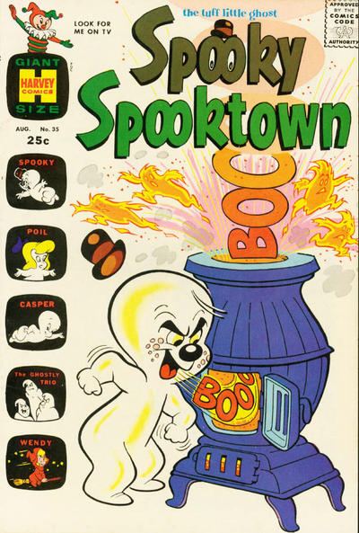 Cover for Spooky Spooktown (Harvey, 1961 series) #35
