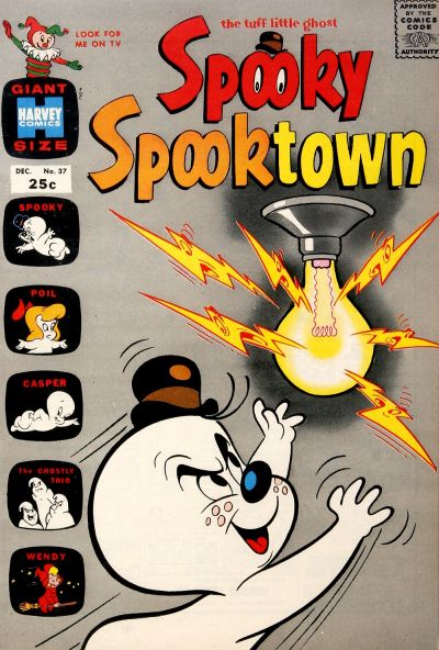 Cover for Spooky Spooktown (Harvey, 1961 series) #37